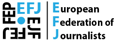 European Federation of Journalists Logo