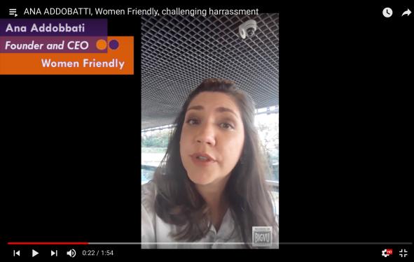 Ana Addobatti talking