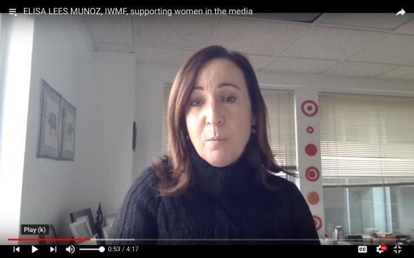 Elisa Lees Munoz speaking
